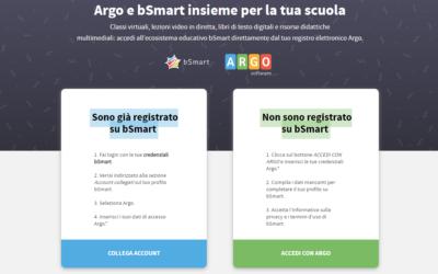 Come faccio a registrarmi su bSmart tramite il mio account Argo?